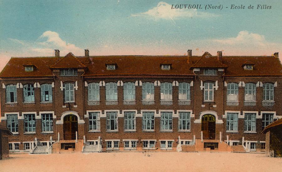 Louvroil historique for Piscine de louvroil